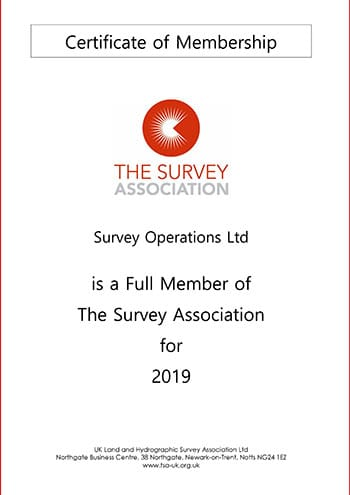 Accreditations Achieved By Survey Operations
