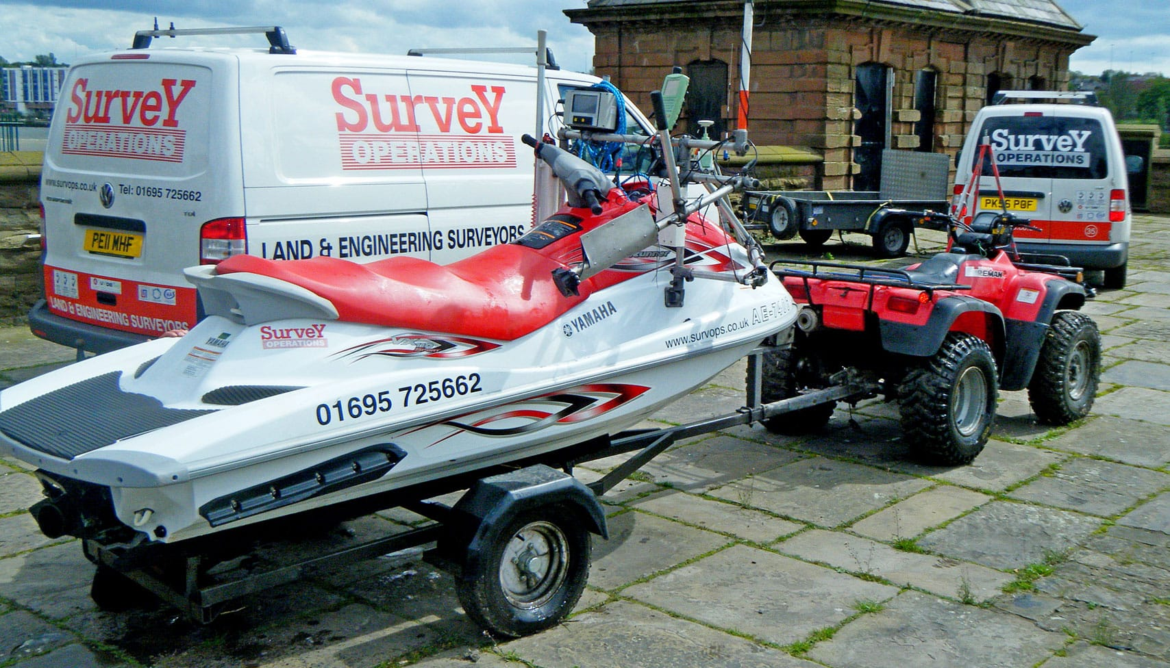 Survey Operations Jet Ski