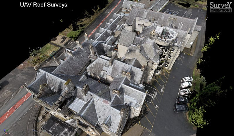Example of a Uav Inspection by Survey Operations.